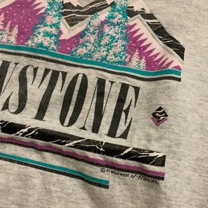 Vintage Shirts - Vintage 90's Yellowstone National Park Nature T